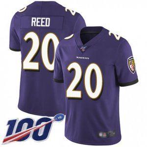 Baltimore Ravens Ed Reed 100th Season Jersey
